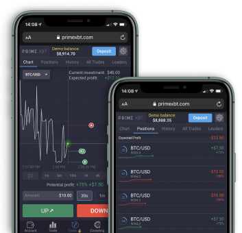 Prime XBT Turbo on your phone