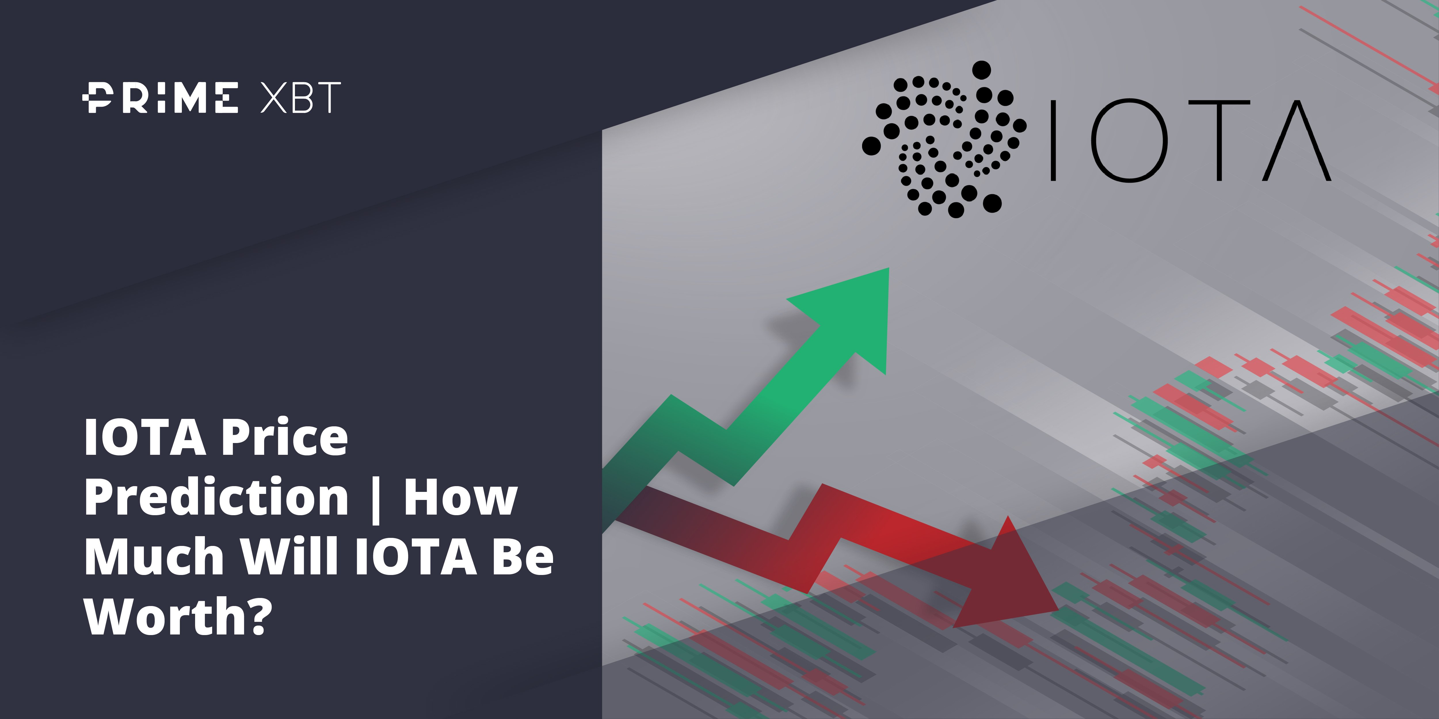 IOTA Price Prediction: How High Can The Internet of Things Altcoin Go? - iota2