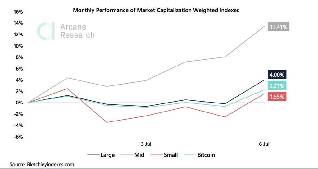 Crypto Market Report: Bitcoin Trades Flat Causing Options to Drop But Altcoins Keep Shining - the weekly update 2020 07 07 23 55 53 1024x544