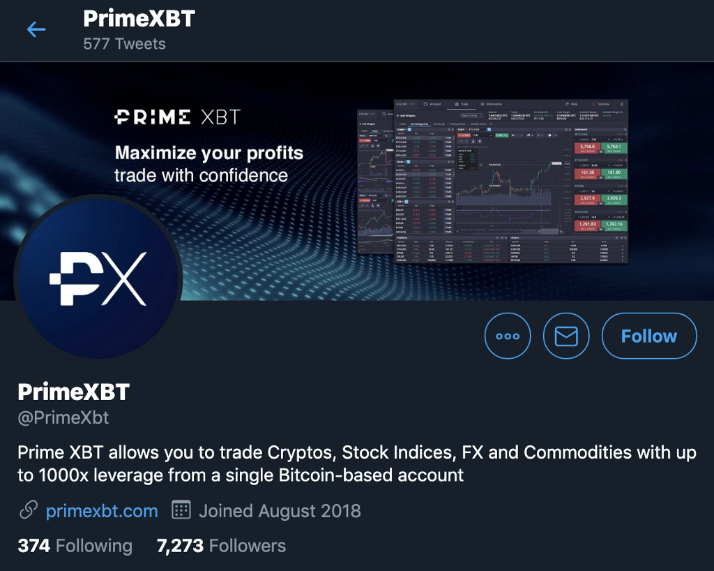 PrimeXBT Scam Warning and Recommended Precautionary Steps - img 5fa584de85e0b