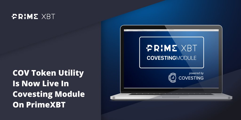 COV Token Utility Is Now Live In Covesting Module On PrimeXBT - Blog Primexbt covest module