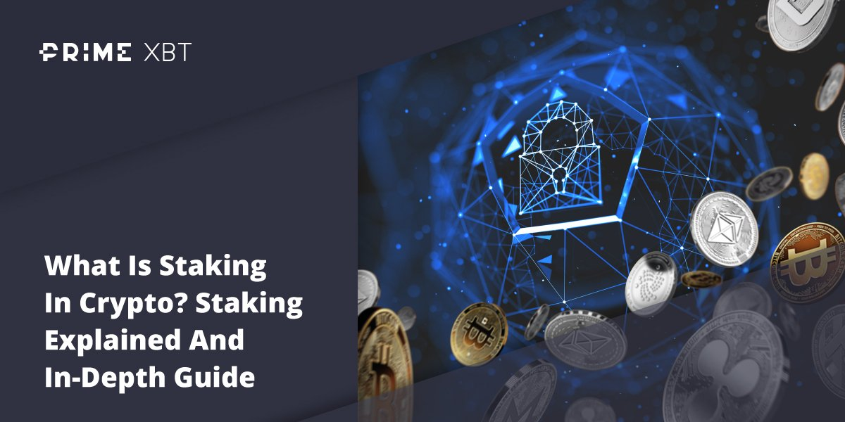What Is Staking In Crypto? Staking Explained And In-Depth Guide - primexbt blog Staking Main