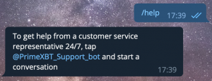 Learn How To Take Advantage of The PrimeXBT Telegram Intel Bot