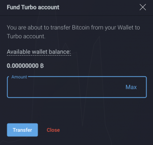 fund turbo account 1 300x284 - PrimeXBT Announces Launch of PrimeXBT Turbo Platform