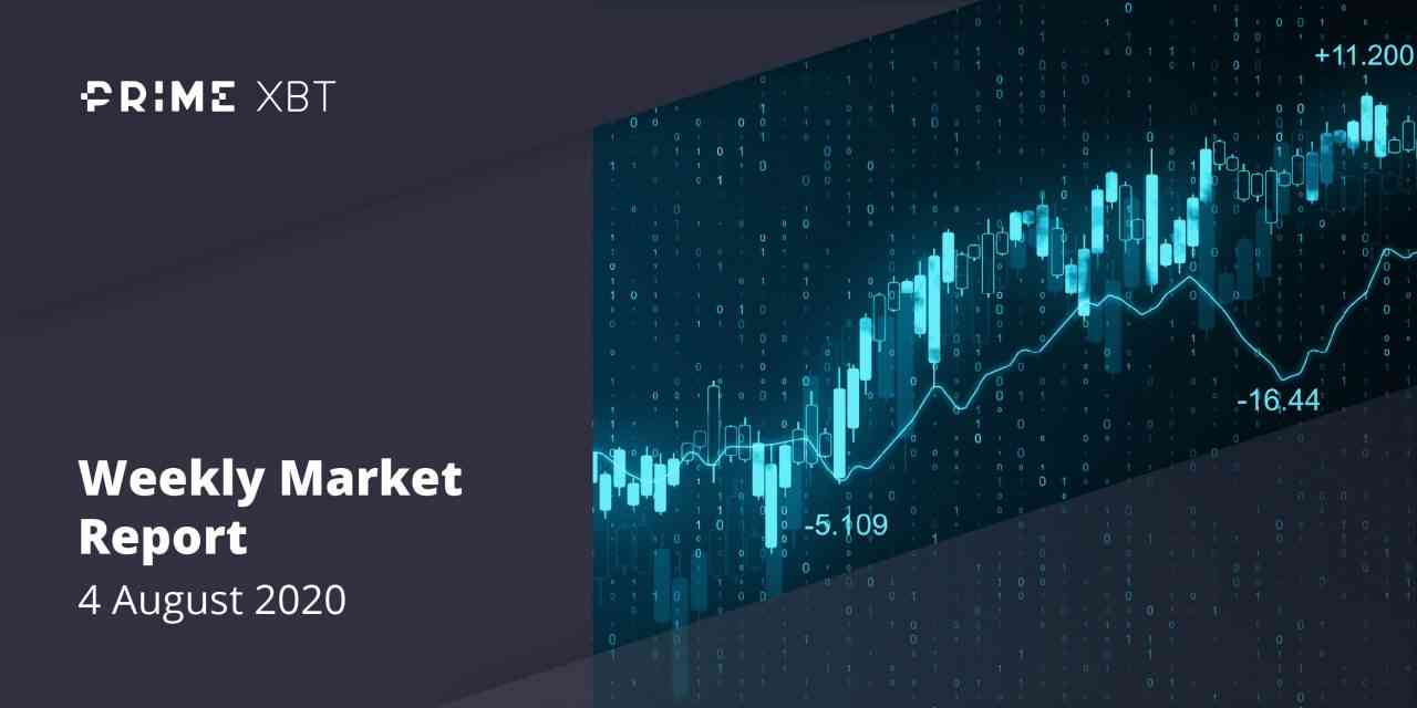 4.08.20 - Crypto Market Report: Majors XRP and Ethereum Lead Bitcoin Higher, But Crypto Correction Begins