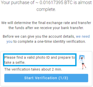 PrimeXBT Partners With Coinify To Make Buying Bitcoin Even Easier - Coinify KYC 300x281