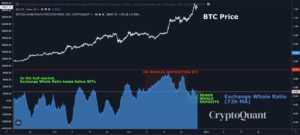 Whale Deposits Declining 300x135 - Market Research Report: Bitcoin Tops $34,000 as Stocks And Crypto Reach New All Time Highs To Welcome New Year