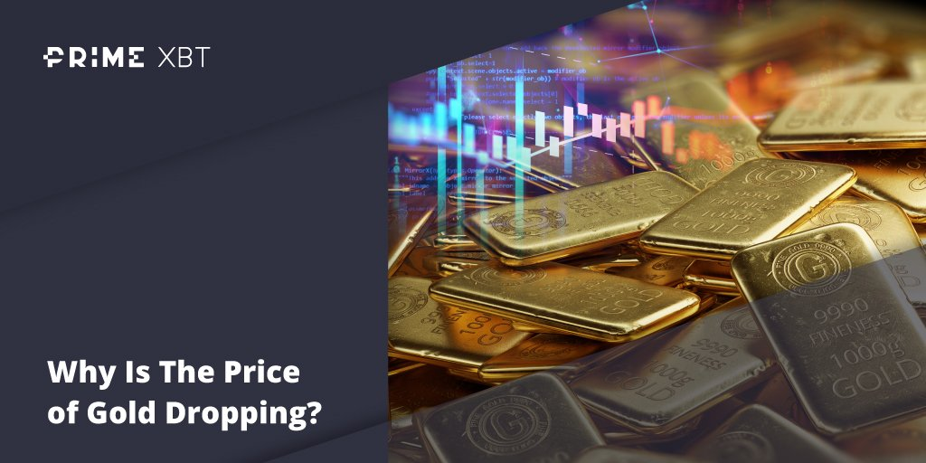 Why Is The Price of Gold Dropping? - Blog Primexbt xbt gold